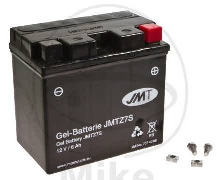 BATTERY JMT YTZ7S(GEL)