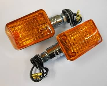 Knipperlicht Set Mini Chrome Kort Oranje