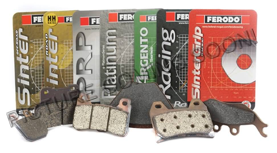 FERODO BRAKE PAD SET FRP408ST SINTER