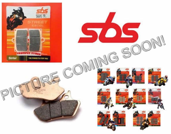 SBS REMBLOK 627DC BRAKE PADS ORGANIC RACING