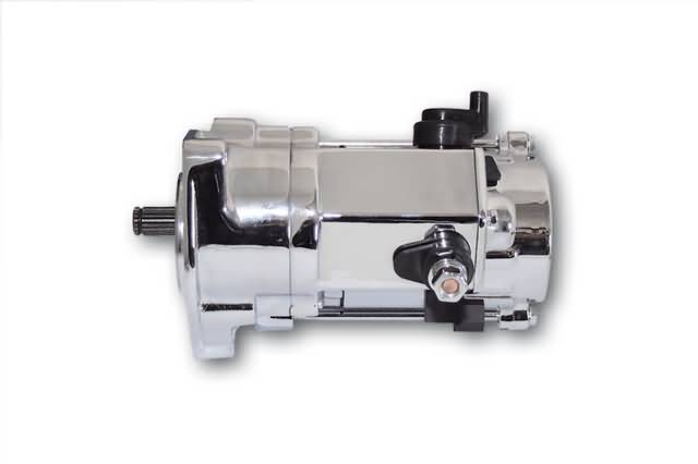 MP STARTMOTOR, CHROM, VOOR DIVERSE HD, DENSO.