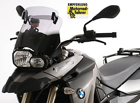 MRA VARIO TOURING RUIT BMW F 650/800 GS, 08-, SMOKE
