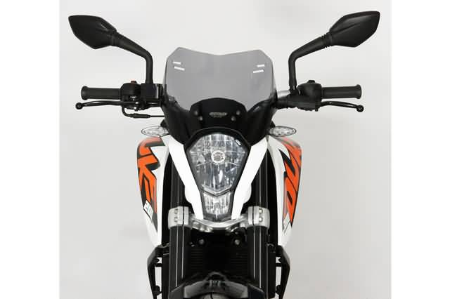 MRA SPOILER PARABRISA S KTM DUKE 125 / 200 /390 ALL, TRANSPARENT