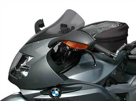 MRA TOURING SCREEN T, BMW K 1200 S / 1300 S, BLACK