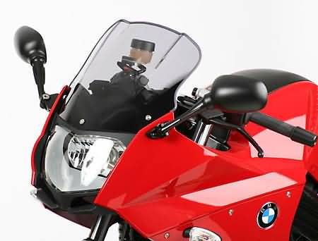 MRA TOURING SCREEN BMW F800 S/ST, 06- BLACK,