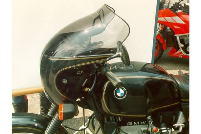 MRA TOURING RUIT T, BMW R 90 S-COCKPIT ALL MODEL, ZWART