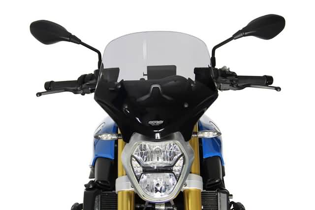 MRA TOURING RUIT T, BMW R 1200 R FROM 2015-, SMOKE