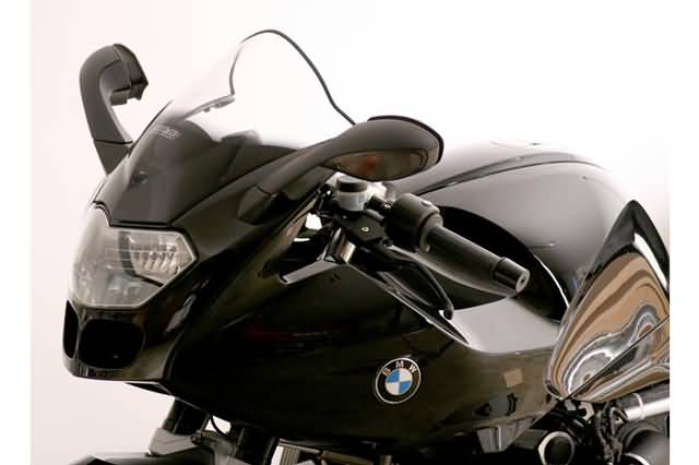 MRA RACING RUIT R, BMW R 1200 S FROM MODEL BJ 2006, ZWART