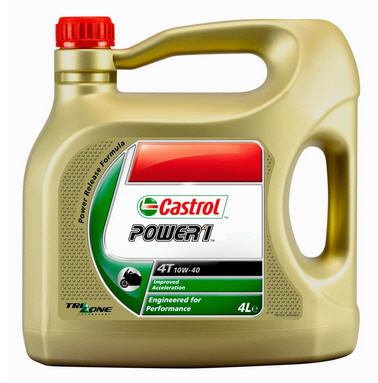 CASTROL POWER RS 4T 10W-40 4 LITRES - Click Image to Close