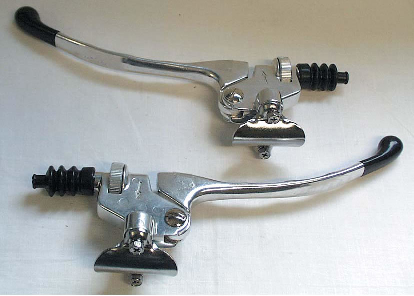 Clutch Lever Assembly Tomasselli Style
