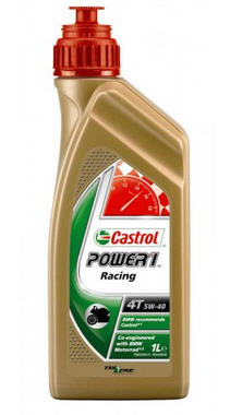 CASTROL POWER SYNTHETIC Racing 4T 5W-40 1 Liter
