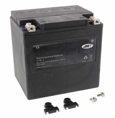 BATTERY JMT VTB-2 V-TWIN JMT (GEL)