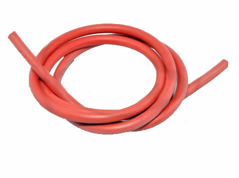 1 METER BOUGIEKABEL ROOD 7MM