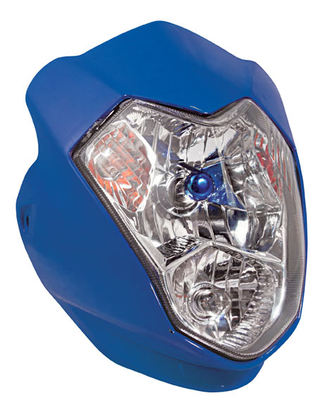 AURA UNIVERSAL FAIRING HEADLIGHT BLUE