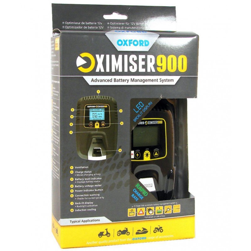OXIMISER 900 SLOW CHARGER